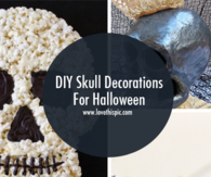 DIY Skull Decorations For Halloween