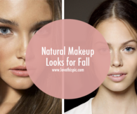 Natural Makeup Looks for Fall