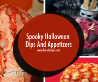 Spooky Halloween Dips And Appetizers