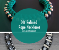 DIY Refined Rope Necklaces