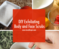 DIY Exfoliating Body and Face Scrubs