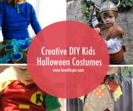 Creative DIY Kids Halloween Costumes
