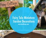 Fairy Tale Miniature Garden Decorations