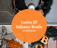 Creative DIY Halloween Wreaths