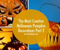 The Most Creative Halloween Pumpkin Decorations Part 2