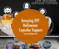 Amazing DIY Halloween Cupcake Toppers