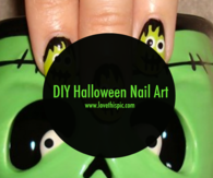 DIY Halloween Nail Art
