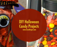 DIY Halloween Candy Projects
