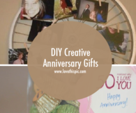 DIY Creative Anniversary Gifts