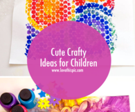 Cute Crafty Ideas for Children