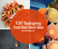 9 DIY Thanksgiving Front Door Decor Ideas