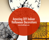 Amazing DIY Indoor Halloween Decorations
