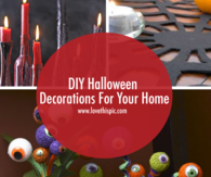 DIY Halloween Decorations For Your Home