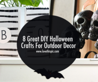8 Great DIY Halloween Crafts For Outdoor Decor