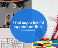 7 Cool Ways to Turn Old Toys into Home Decor