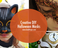 Creative DIY Halloween Masks