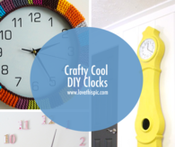 Crafty Cool DIY Clocks