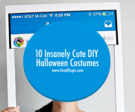 10 Insanely Cute DIY Halloween Costumes