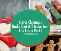 Clever Christmas Hacks That Will Make Your Life Easier Part 1