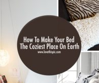 How To Make Your Bed The Coziest Place On Earth