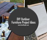 DIY Outdoor Furniture Project Ideas