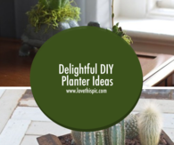 Delightful DIY Planter Ideas
