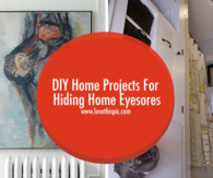 DIY Home Projects For Hiding Home Eyesores