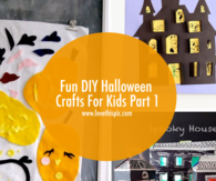 Fun DIY Halloween Crafts For Kids Part 1