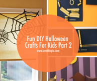 Fun DIY Halloween Crafts For Kids Part 2