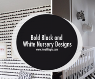 Bold Black and White Nursery Designs