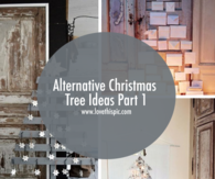Alternative Christmas Tree Ideas Part 1