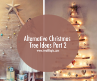Alternative Christmas Tree Ideas Part 2