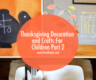 Thanksgiving Decoration and Crafts For Children Part 2