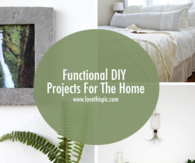 Functional DIY Projects For The Home