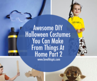 Awesome DIY Halloween Costumes You Can Make From Things At Home Part 2