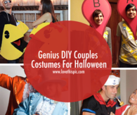Genius DIY Couples Costumes For Halloween