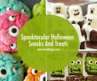 Spooktacular Halloween Snacks And Treats