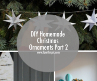 DIY Homemade Christmas Ornaments Part 2