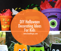 DIY Halloween Decorating Ideas For Kids