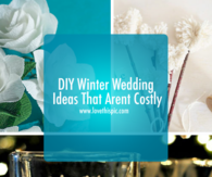 DIY Winter Wedding Ideas That Arent Costly