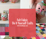 Felt Fabric Do It Yourself Crafts