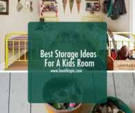Best Storage Ideas For A Kids Room