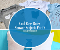 Cool Boys Baby Shower Projects Part 2