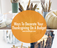 Ways To Decorate Your Thanksgiving On A Budget