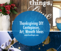 Thanksgiving DIY Centepieces, Art, Wreath Ideas