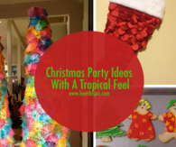 Christmas Party Ideas With A Tropical Feel