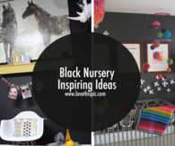Black Nursery Inspiring Ideas