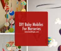 DIY Baby Mobiles For Nurseries