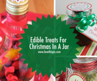 Edible Treats For Christmas In A Jar