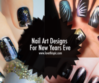 Nail Art Designs For New Years Eve